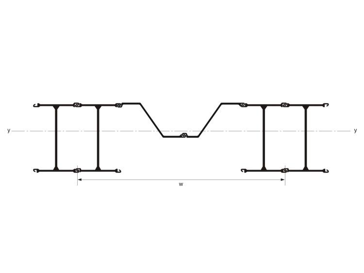 H型组合钢板桩